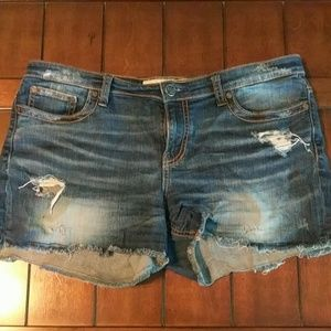 BKE Buckle Payton Distressed Jean Cut Off Shorts